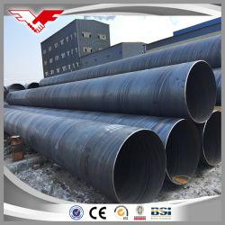 Espiral de aço carbono do tubo soldado pilhas para estruturas costeiras