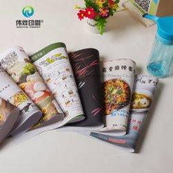 Promotionele Cheapersample Restaurant-folders voor op maat gemaakte afdrukken