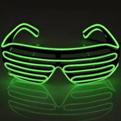Don lumière néon LED colorées el Fil lunettes parti