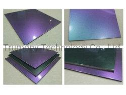 Piatto composito di alluminio del comitato di Feve PVDF di memoria del LDPE della fabbrica della Cina dello specchio della superficie lucida leggera del Chameleon