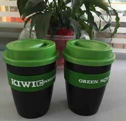 Mok van de Koffie van het Silicone van de Manier van de thermische Isolatie de Plastic