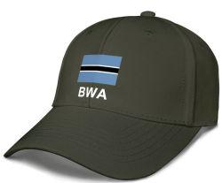 Conception de logo personnalisé Casquette de baseball promotionnel BOTSWANA CAP