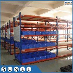 Для тяжелого режима работы склада хранения промышленных полки для установки в стойку металлические стеллажи