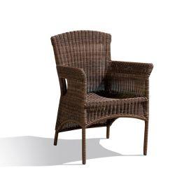 حديقة خارجيّة يحاك [ويكر] معدن إطار يتعشّى كرسي تثبيت