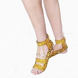 La mujer la danza Latina Estrás Salsa Zapatos de Tacón Zapatos de Tango