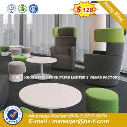 Estrutura em metal moderno cadeira com mesa de escrita Barra de alumínio Cadeira Mobiliário doméstico (HX-8NR2276)