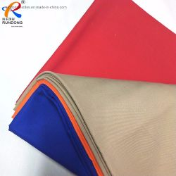 De coton/polyester Tissu à armure sergé de camouflage pour les vestes