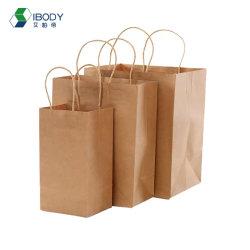 Venda por grosso de papel Kraft Copos copos de café suporte de papel de embalagem com saco de papel Kraft