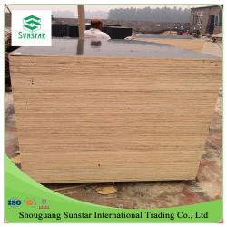 Sovrapposizione 4*8/nero unito barretta/della sciarpa/pioppo/legno duro film di materia plastica del Brown /Red /PP per costruzione/mobilia/decorazione/l'imballaggio