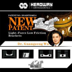 Des progrès nouveau brevet Light-Force dentaire Support à faible friction