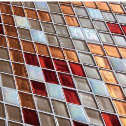 Rhombus Mosaïque Mosaïque de verre pour l'hôtel Decoartion