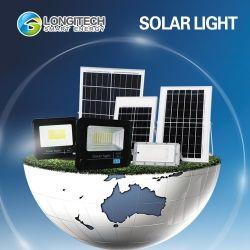 D'URGENCE automatique étanches IP65 rechargeable Lampe Solaire Panneau Extérieur