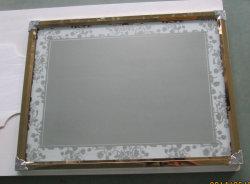 황금 짜맞춰진 은 알루미늄 가정 장식 벽 미러 가구 미러