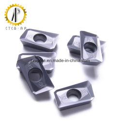Apmt1604pder-M2 Inserto de moagem de carboneto de tungsténio CNC