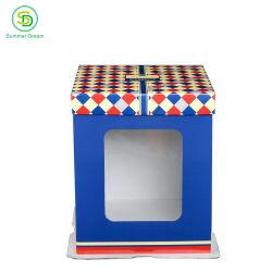 도매 주문 인쇄 대량 대형 케이크 창과 포장 상자