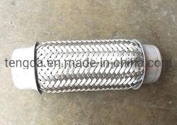 Connettore saldato tubo in acciaio inox, soffietti di espansione in metallo