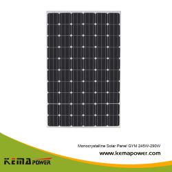 Salle de gym 250W mono TUV panneau solaire photovoltaïque pour Éclairage solaire