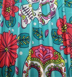 Impreso de moda trajes de baño Trajes de baño de Neopreno de tela de nylon
