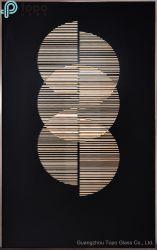 Abstraktes dekoratives handgemaltes Wand-Ölgemälde (MR-YB6-2047A)