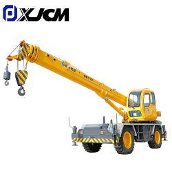Xjcm Rt10 10ton Torre hidráulica de la construcción de un terreno accidentado de camiones grúa móvil