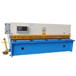 Placa de metal guilhotina CNC hidráulica das máquinas de corte QC12y 6x2500mm