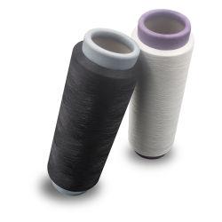Garen DTY van uitstekende kwaliteit van de Polyester van 100% het Ruwe Witte