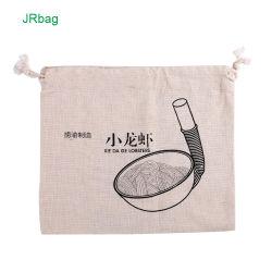 Китай производство натуральный хлопок кулиской чехол для выпечки мешки для хранения продуктов питания