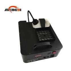 DMX512 무선 1500W LED 단계 안개 연기 기계