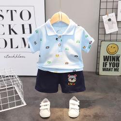 2021 أزياء الأطفال الجديدة الصيفية لبولو جلبة قصيرة