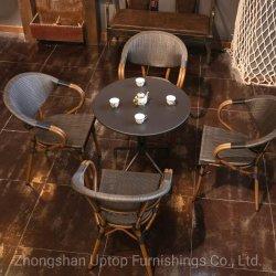 Aluminum Bistro 가구 카페 테이블과 야외 정원 의자