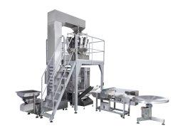 Le remplissage volumétrique verticale de détergent en poudre à laver la machine d'emballage