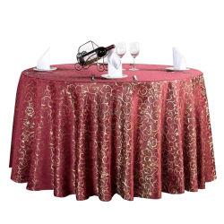 """120 """"装飾的な円卓会議の布と結婚するコーヒーカラーサテンのPintuckの宴会"""