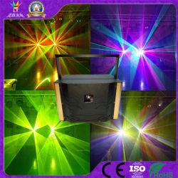Fase de animação RGB de 8 W laser DJ Discoteca