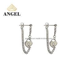 Bijoux en argent 925 Sterling High Fashion forme de coeur Earring Mode bijoux cadeau