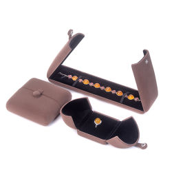 fait sur mesure vintage Velvet Collier Bracelet Bague Earring boîte à bijoux
