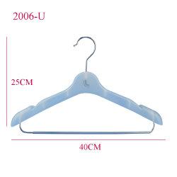Wholesales Multi индивидуального логотипа одежды вешалки для установки в стойку с бар