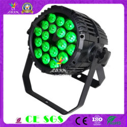 El cambio de color IP65 Resistente al agua 18x10W PAR LED Luz Can