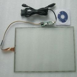 شاشة لمس مقاومة الأسلاك مقاس 10.4 بوصة مقاس 4 بوصات لـ 800 شاشة عرض LCD مقاس × 600