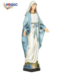 Figurine de gros de collecte de fait sur mesure de la renaissance de la Mère la Vierge Marie Statue