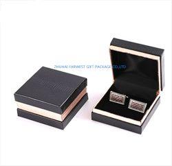 Caja de regalo de papel cartón Cufflink Joyería al por mayor de la caja caja de embalaje