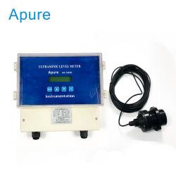 Transmisor de Nivel de Agua Digital Medidor de Nivel de Tanque de Líquido Ultrasónico