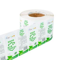 L'emballage OEM de produits pharmaceutiques multicouches BOPP Matériaux label composite auto-adhésif
