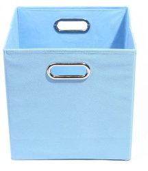 Boîte de rangement en tissu des bacs de rangement en tissu, nontissé Organizerscubes pliante pliable