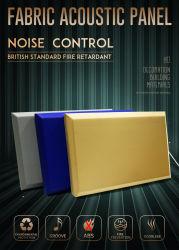 Ткань Негорючий Поглощение звука акустические панели стены
