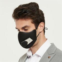 Smart многократного использования спорта маску с высококачественные аккумуляторные электрические клапаны фильтр маску с электровентилятора системы охлаждения двигателя