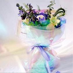 Arco-Íris Flor transparente de Cintagem película reflectora
