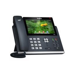 T4S Yealink téléphones VoIP de la série T48S grand écran haut de gamme de touch control téléphone SIP sip-T48S