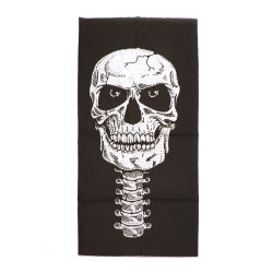Venda Personalizada coloridas impressas Crânio Poliéster Homens Mulheres enfrentam Cobrir o tubo bocal perfeita elásticas Bandana lenço curtos para venda