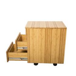 도매 사무용 가구 모든 대나무 저장 내각 침대 내각
