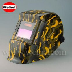 Solarbetriebener Auto-Darkenzing-Schweißhelm/Schweißmaske (WH4400204)